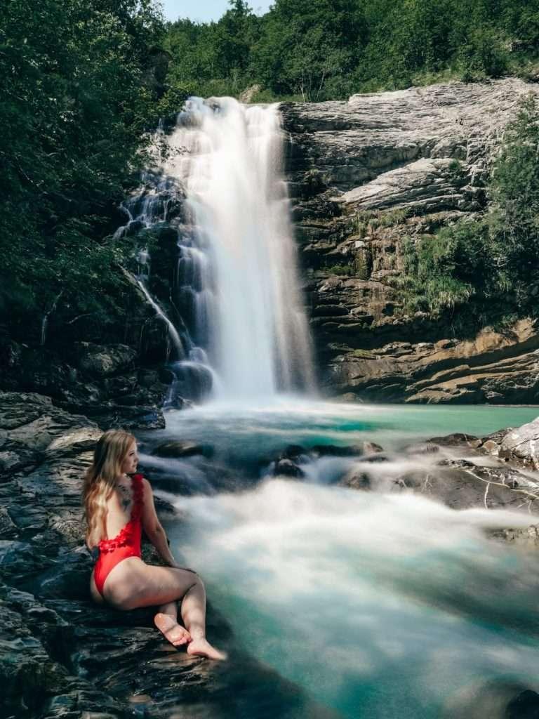 cascate del Golfarone-sara-alle-cascate