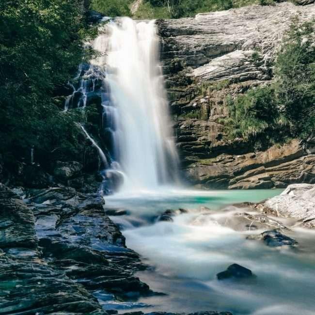 cascate del Golfarone-visuale