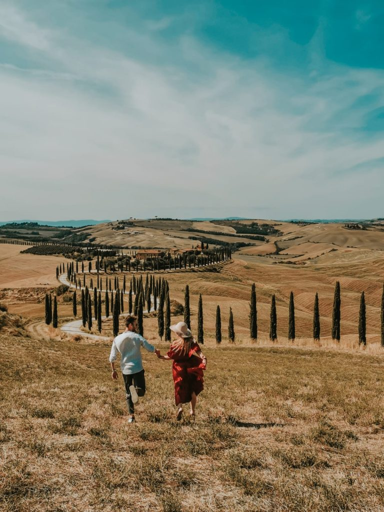 luoghi instagrammabili in Val d'Orcia-baccoleno
