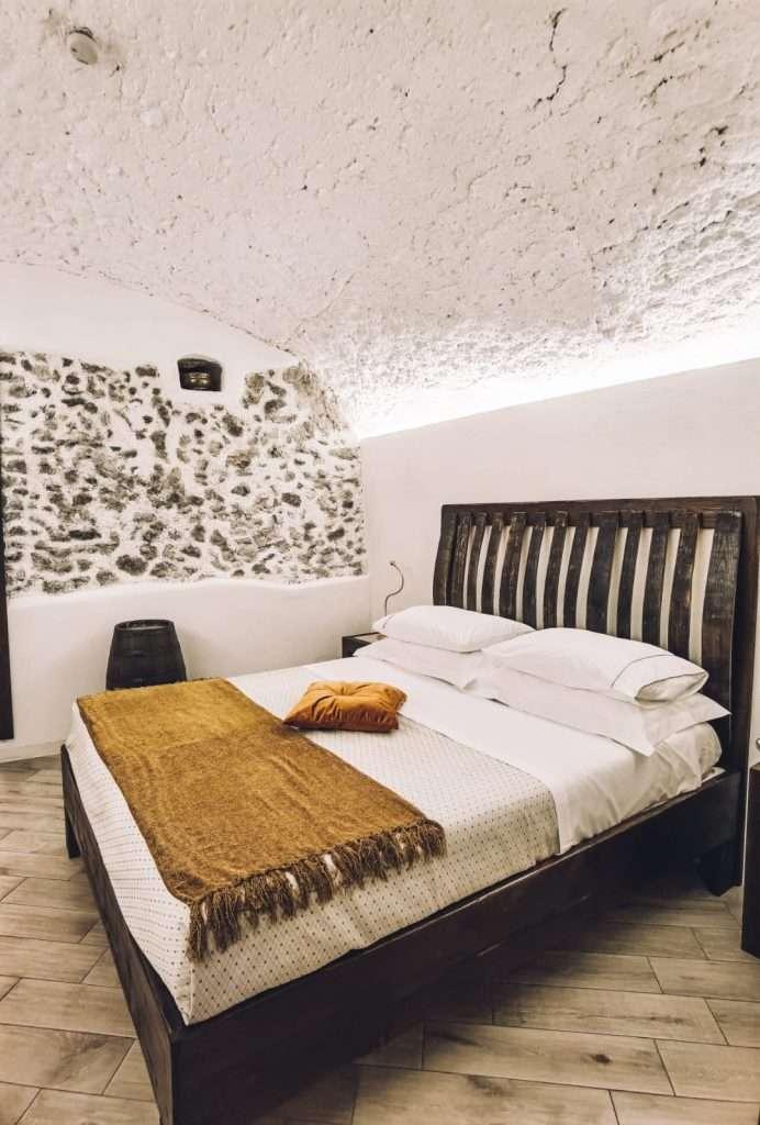 dormire in una cantina-camera-da-letto