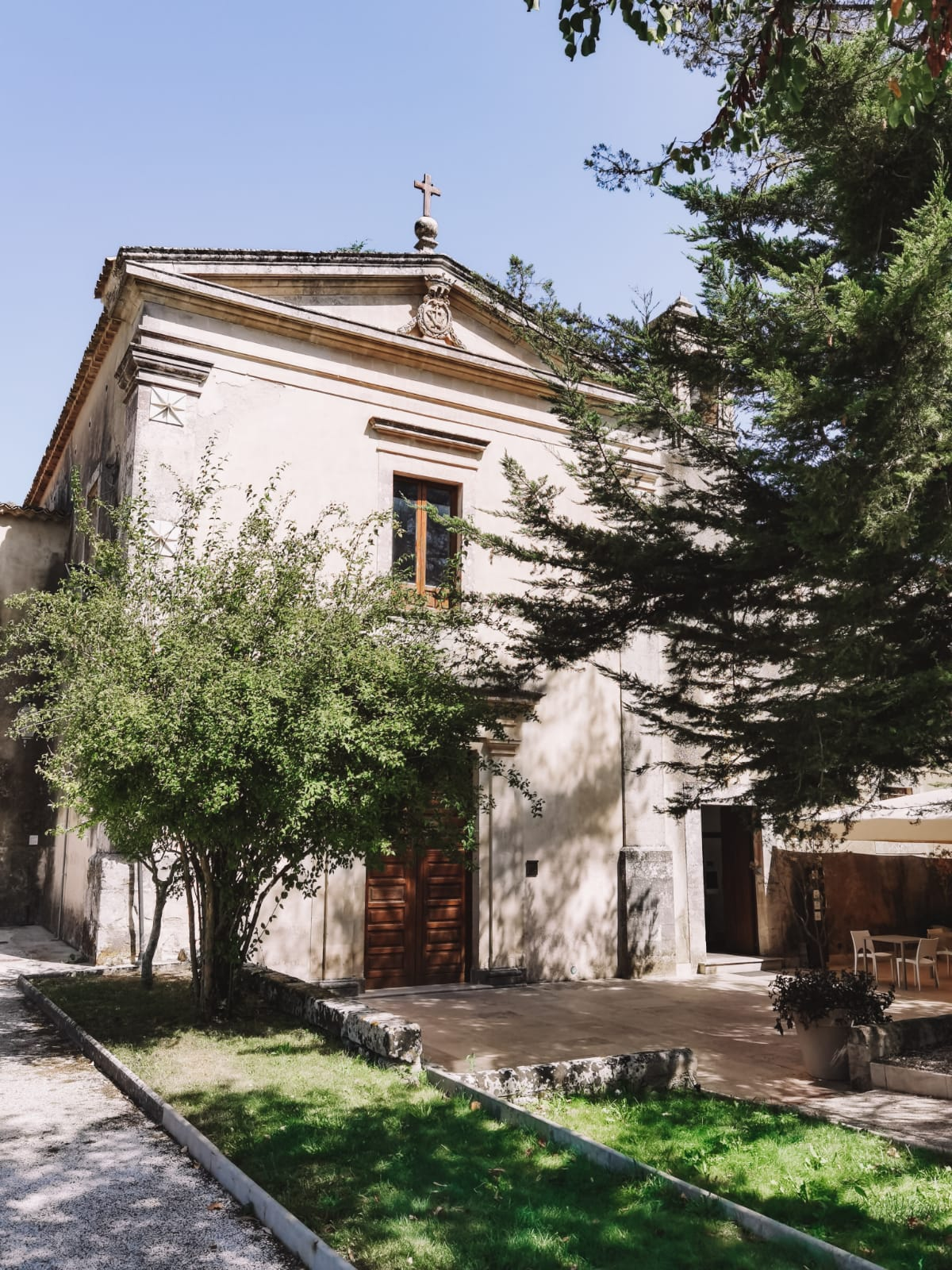 dormire in un antico convento-chiesa
