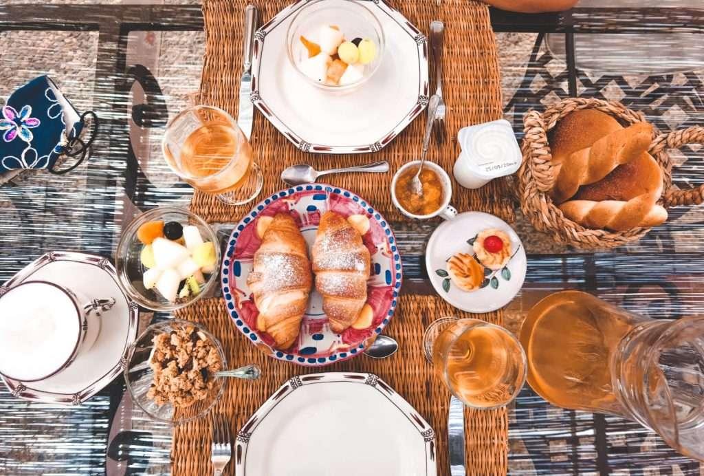 saline rosa a Marsala-colazione-la-portazza