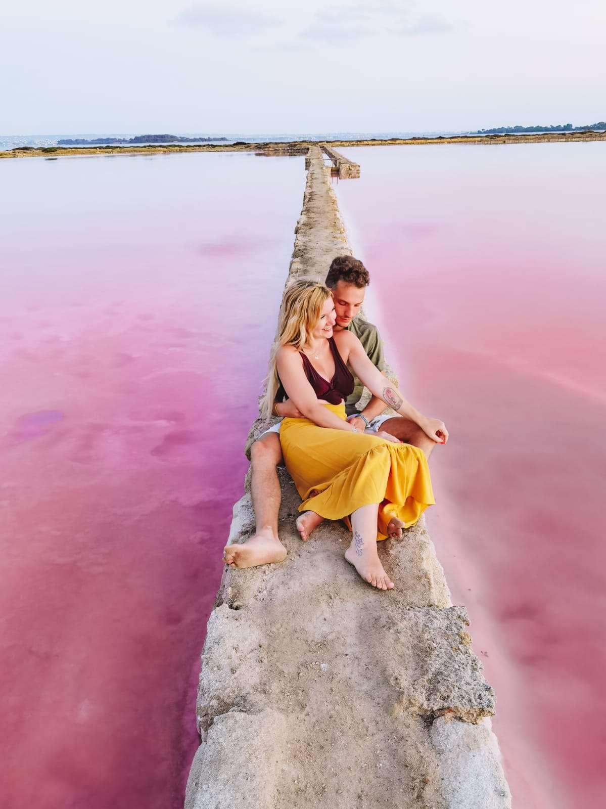 saline rosa a Marsala-sara-lorenzo-vasche