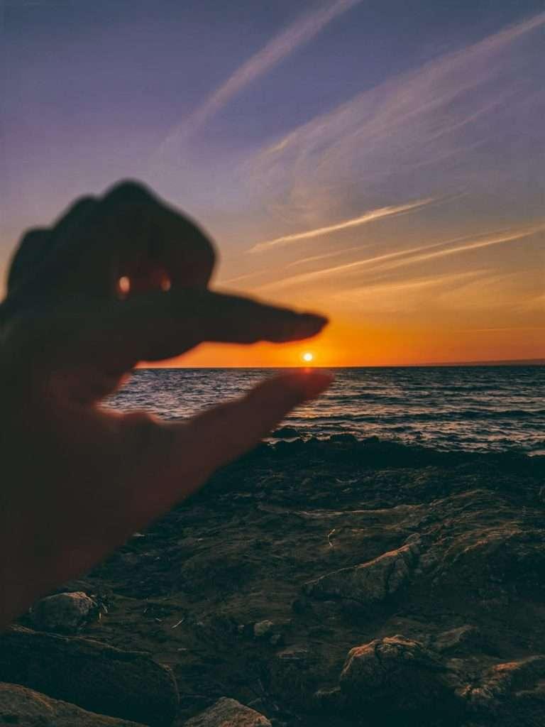 Marzamemi in un giorno-tramonto-isola-correnti