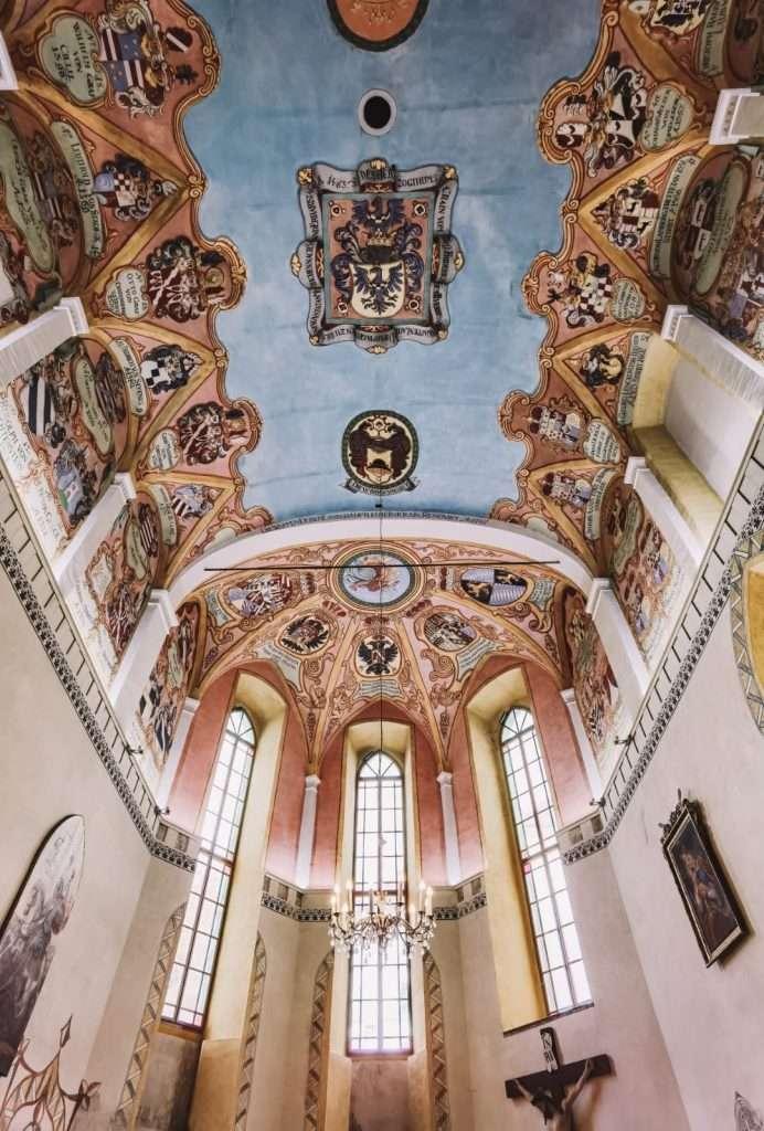 Lubiana in un giorno-cappella-castello