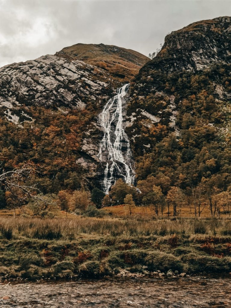 luoghi di Harry Potter in Scozia-steall-waterfall