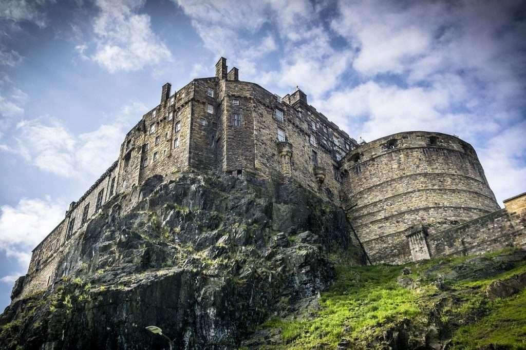luoghi instagrammabili a Edimburgo-castello