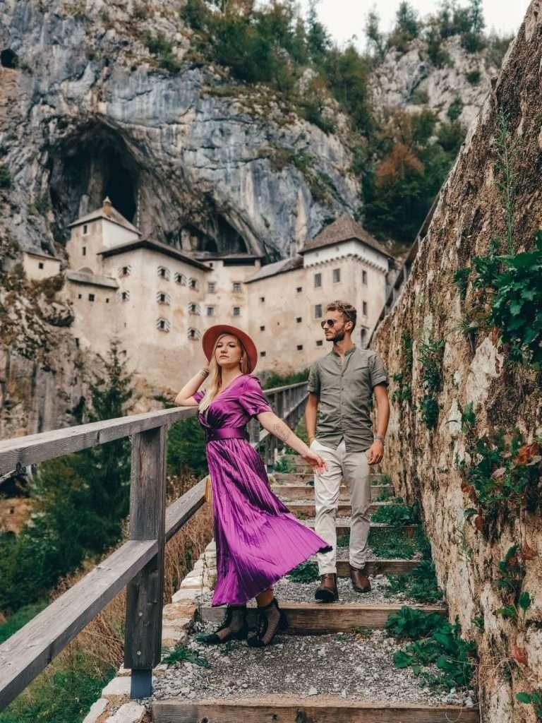 Lubiana in un giorno-predjama-castle