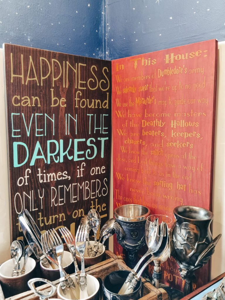 alloggio a tema Harry Potter-cuccetta