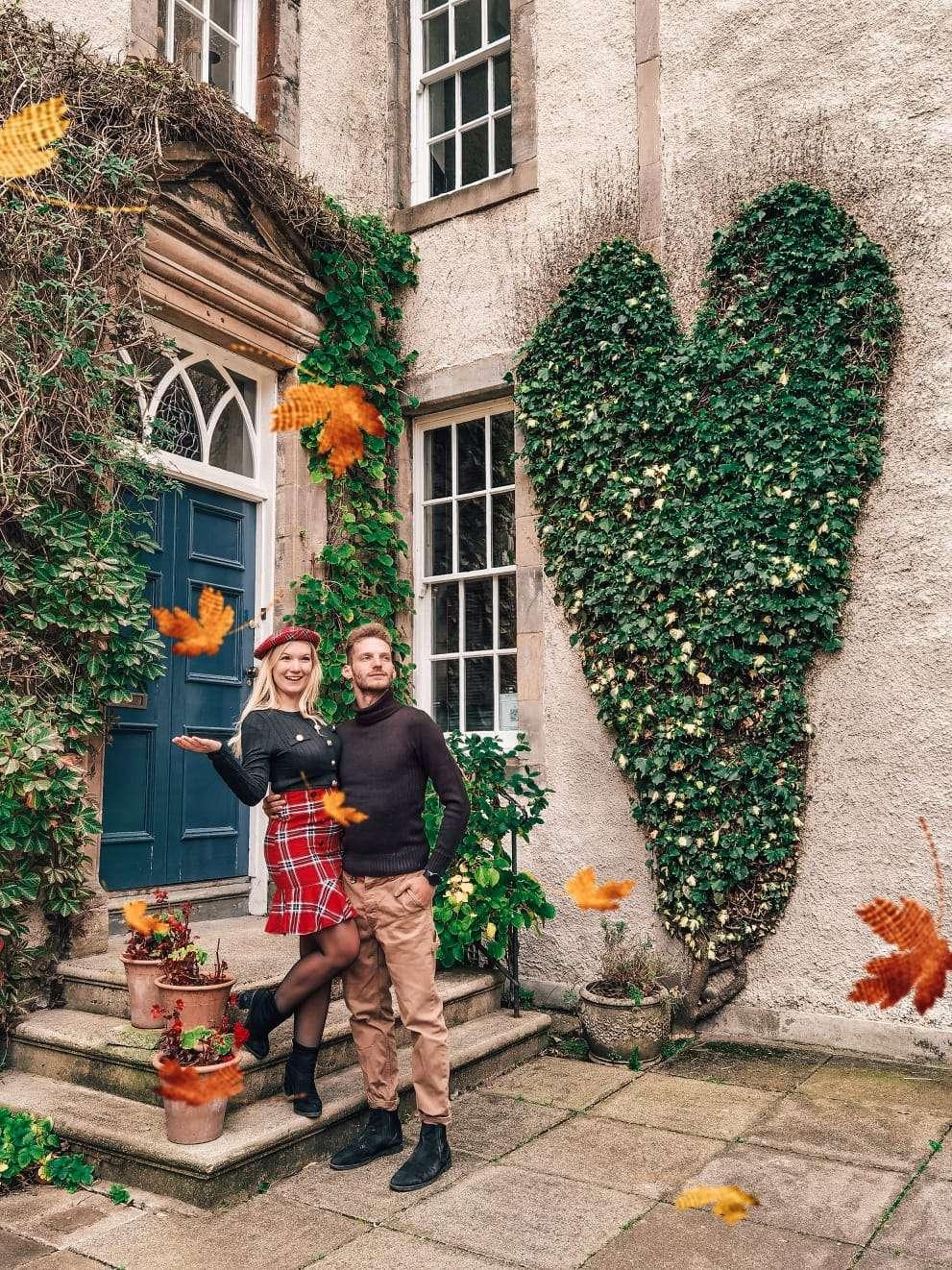 luoghi instagrammabili a Edimburgo-cuore-chessel-court