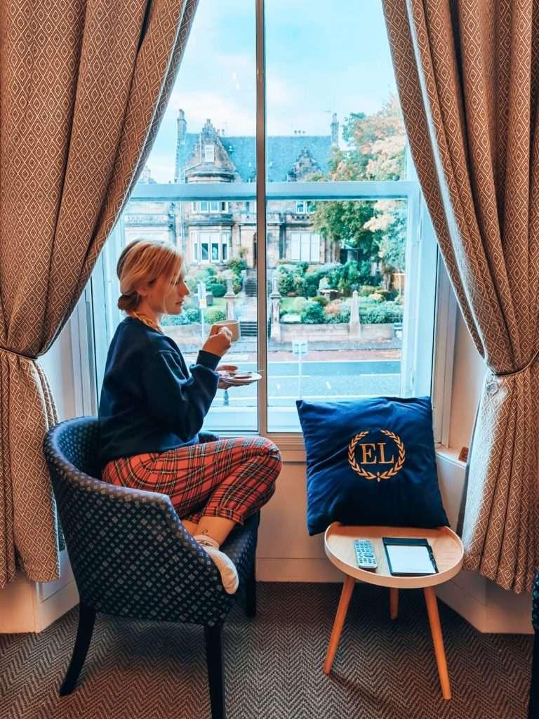 Edimburgo quando piove-edinburgh-lodge