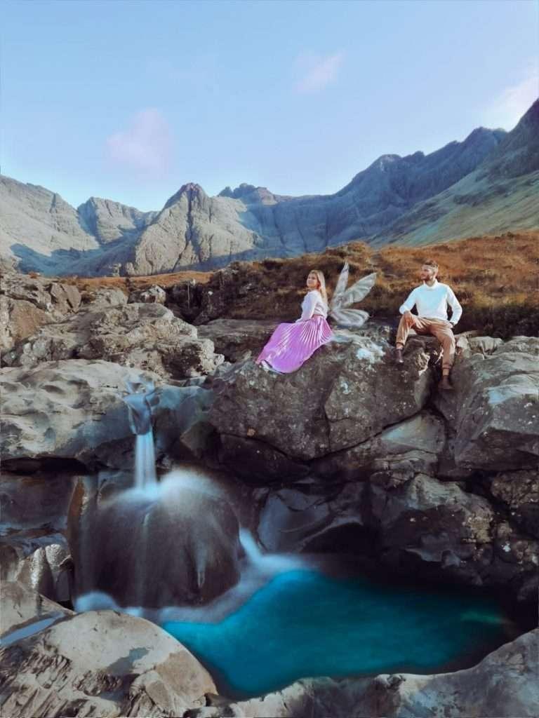 luoghi instagrammabili a Skye-fairy-pools