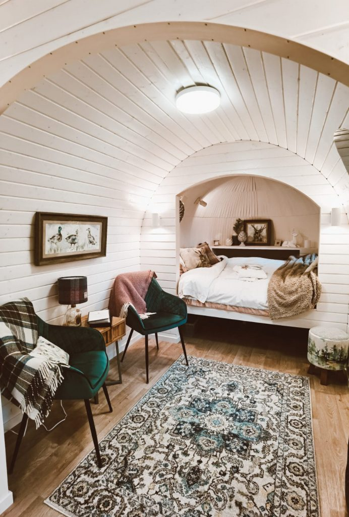 glamping in Scozia-culdees-interno