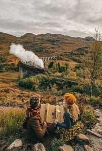 Come vedere il treno di Harry Potter-passaggio-treno