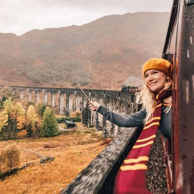 treno di Harry Potter in Scozia-hogwarts-express