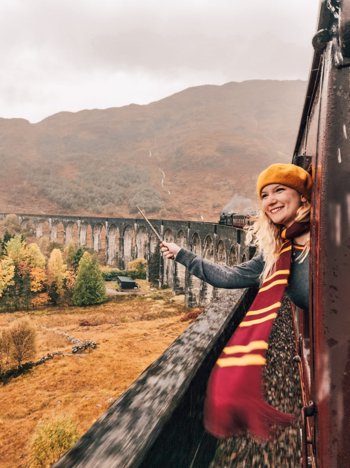 treno di Harry Potter in Scozia-hogwarts-express
