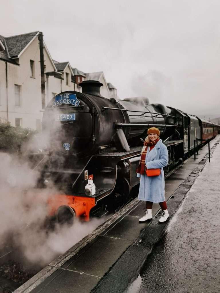 treno di Harry Potter in Scozia-jacobite-train