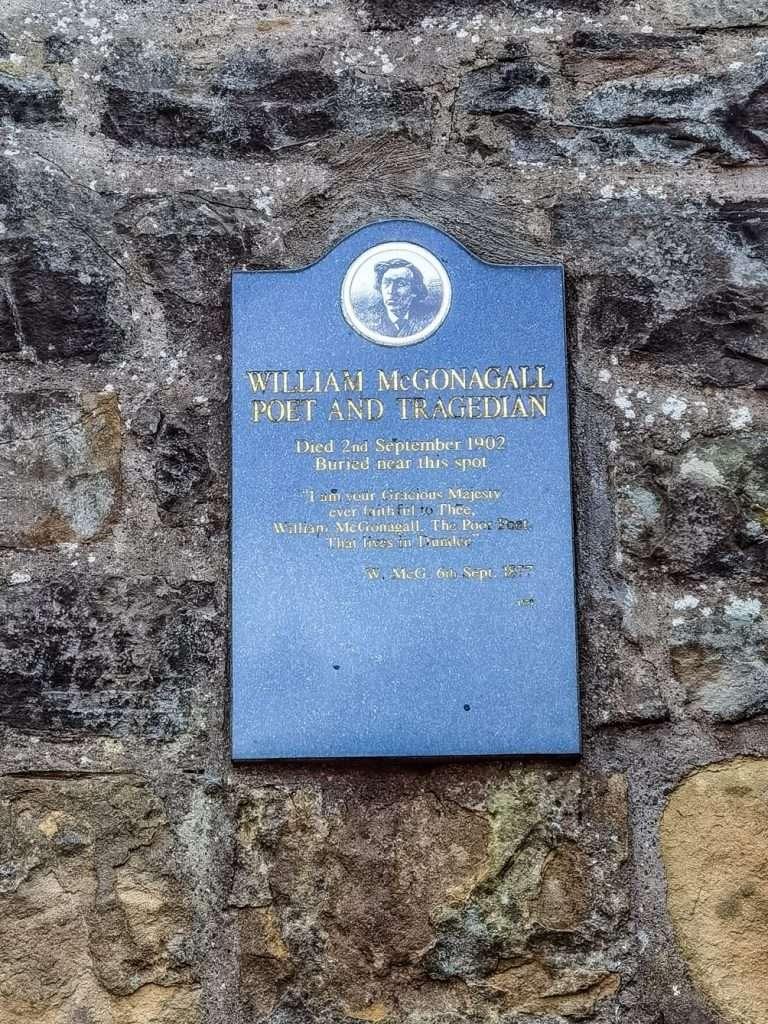 luoghi Harry Potter a Edimburgo-lapide-mcgonagall