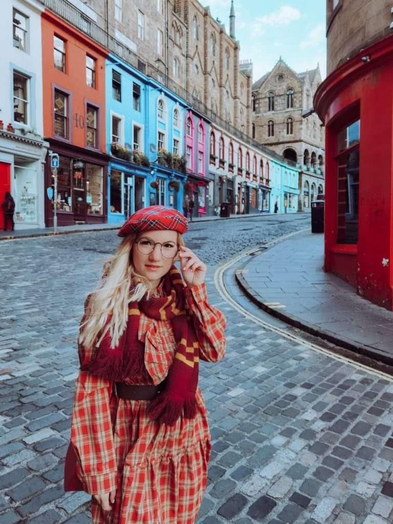 luoghi Harry Potter a Edimburgo-sara-victoria-street