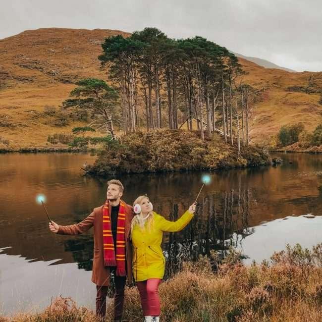 luoghi di Harry Potter in Scozia-tomba-silente