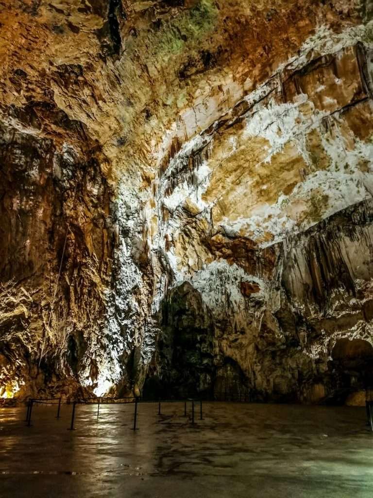grotte di Postumia-anfitetaro