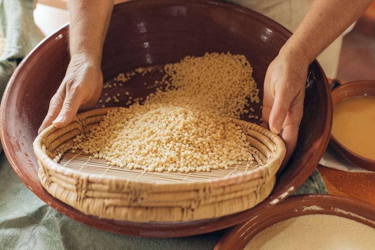 tipi di pasta della tradizione sarda-fregula