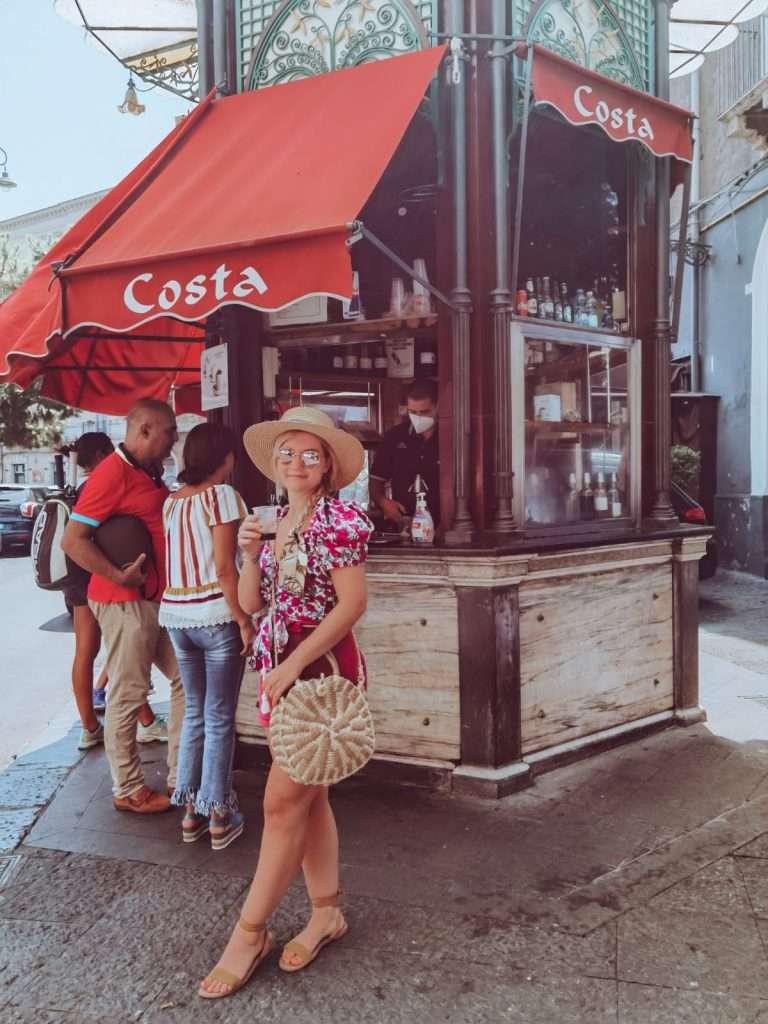 Catania in un giorno-chiosco-costa