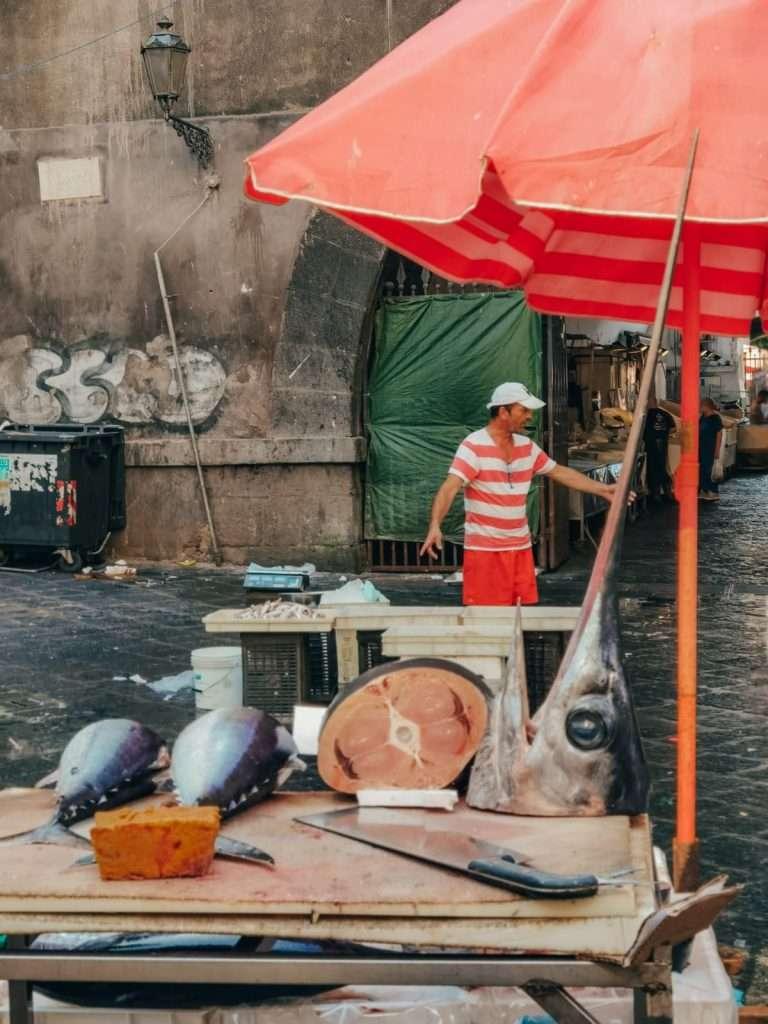 Catania in un giorno-mercato-pesce