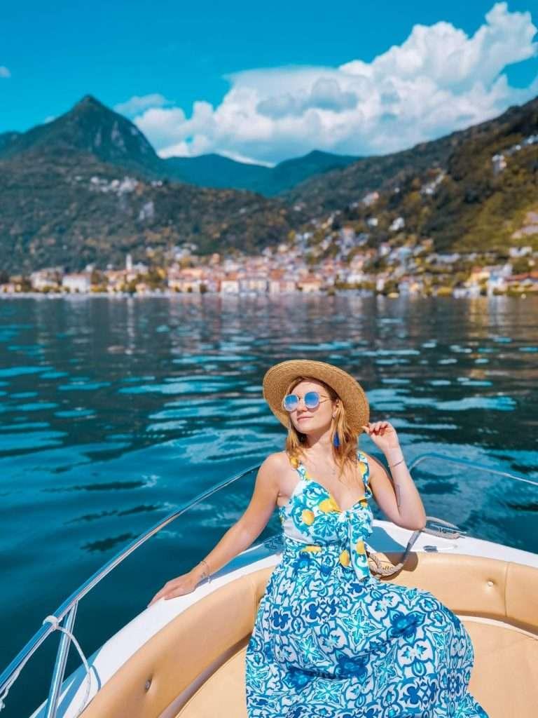 luoghi instagrammabili sull'alto Lago Maggiore-barca