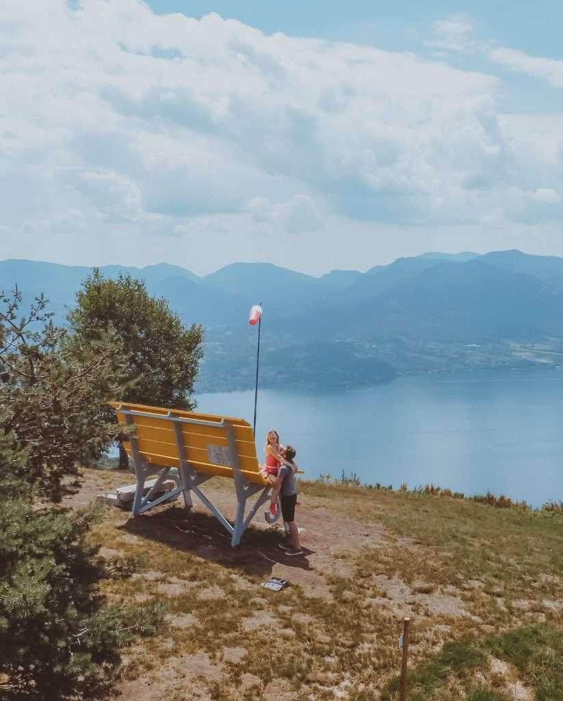 cosa fare sull'alto Lago Maggiore-big-bench